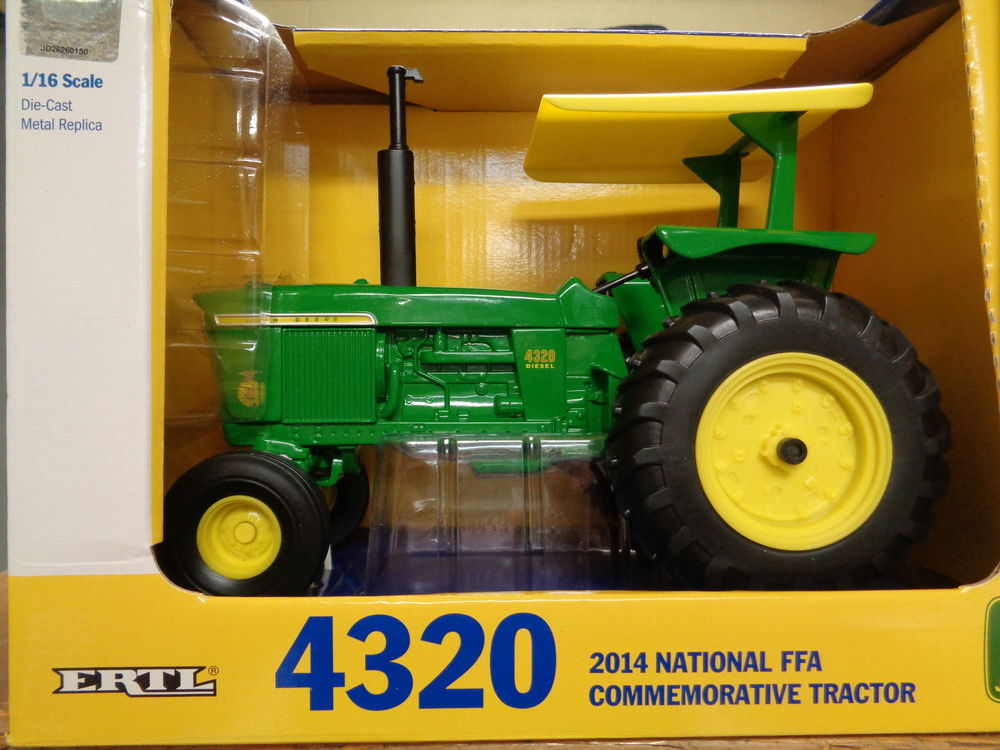 NEW John Deere Model 4320 National FFA Tractor 1/16 Scale Ages 3 ...