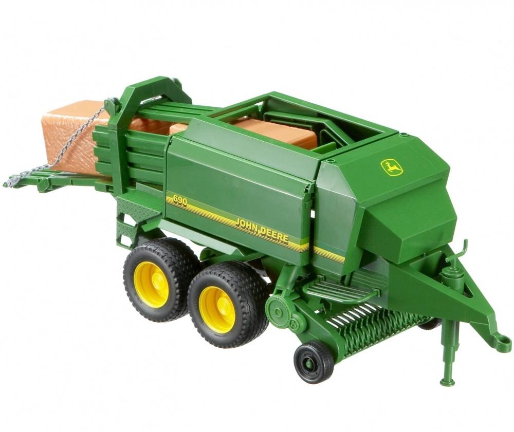 Bruder Toys John Deere Big Bale Press 02017 - Farm Toys Online