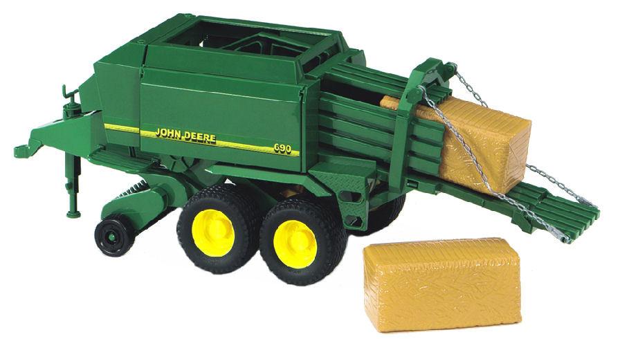 09800 1/16 John Deere 690 Large Square Baler | Action Toys