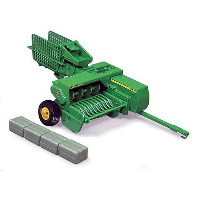 ... Big Farm 45220M6 John Deere 348 Square Baler - Farm Toys Online