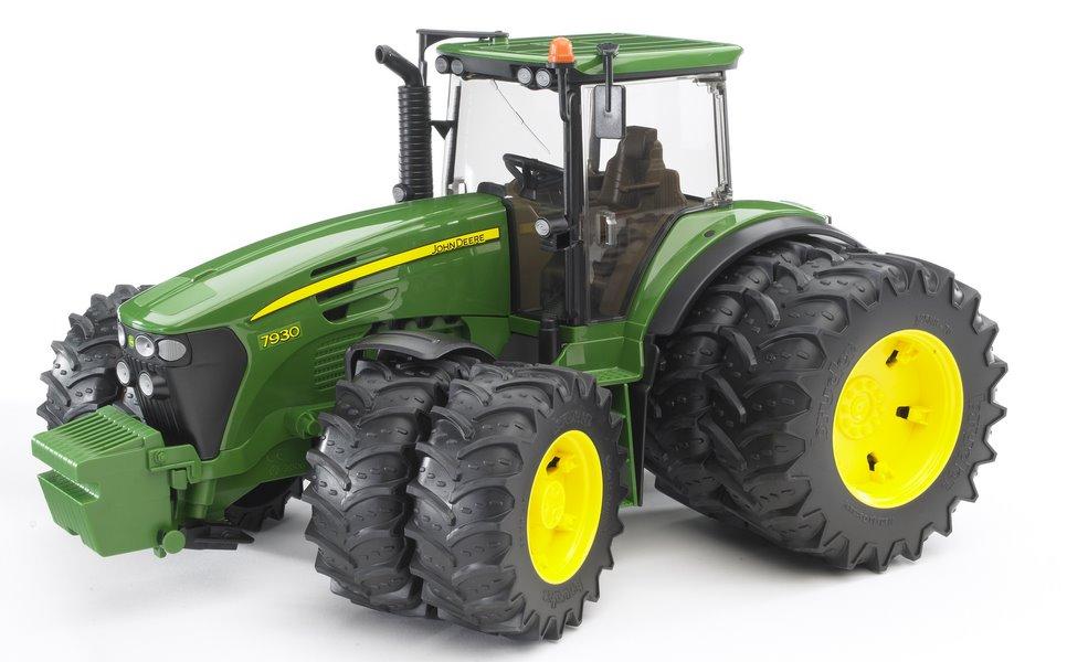 Tools & Building - Bruder John Deere 7930 with Twin Tyres - Bruder was ...