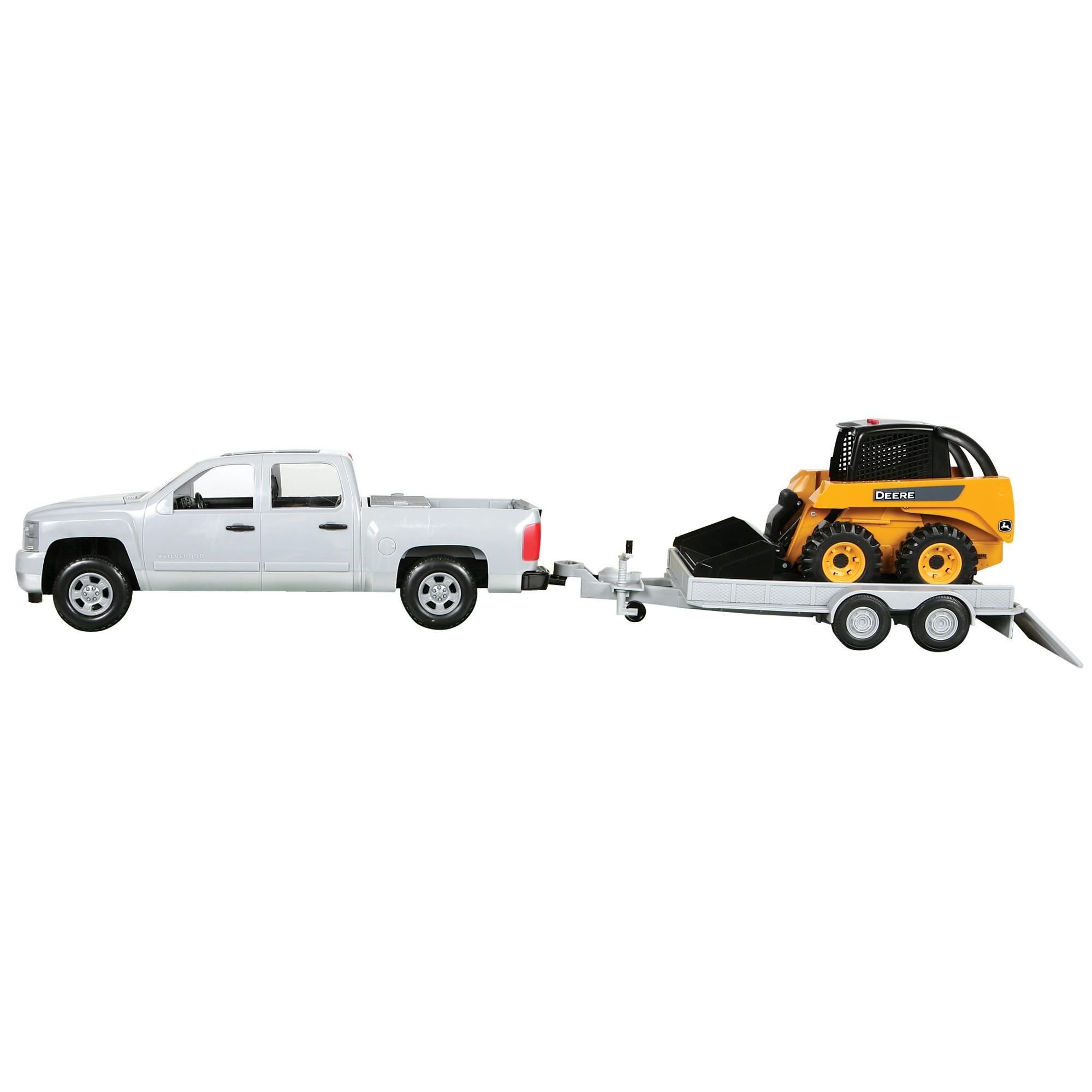 16 Big Farm Truck, Skidsteer & Trailer Set | QC Supply