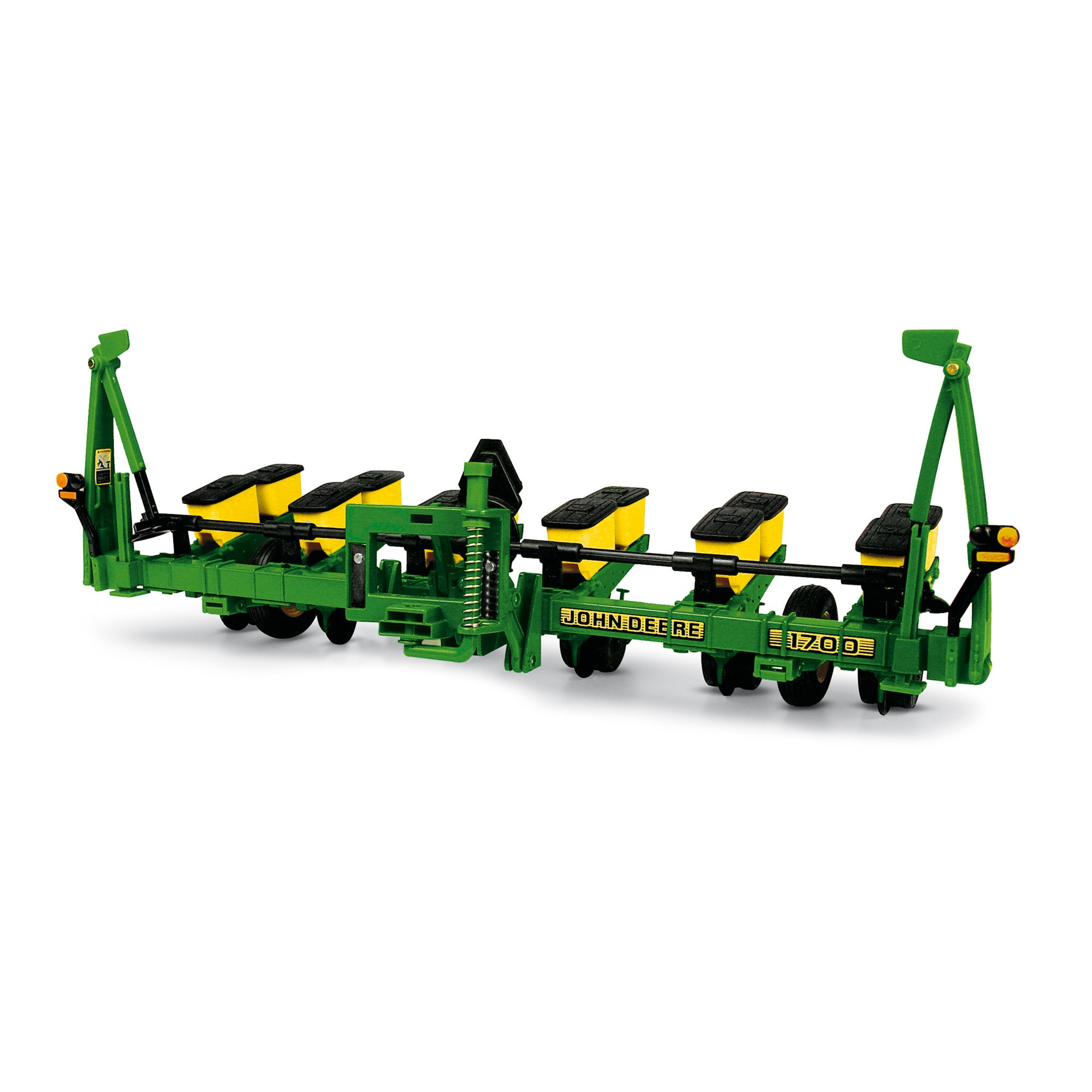 ... straight with this 1/16 scale John Deere 1700 Series 6-Row Planter