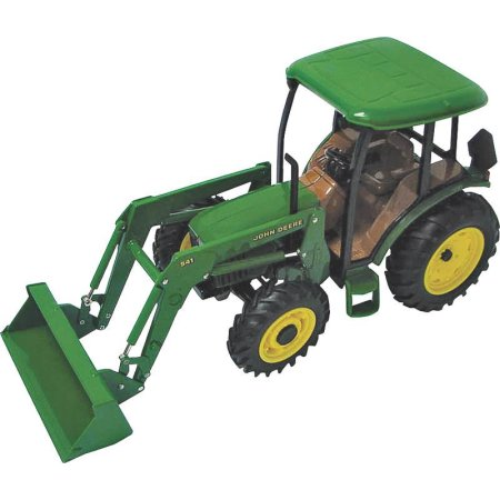 John Deere 1/16 Scale 5420 Tractor with Cab and Loader - Walmart.com