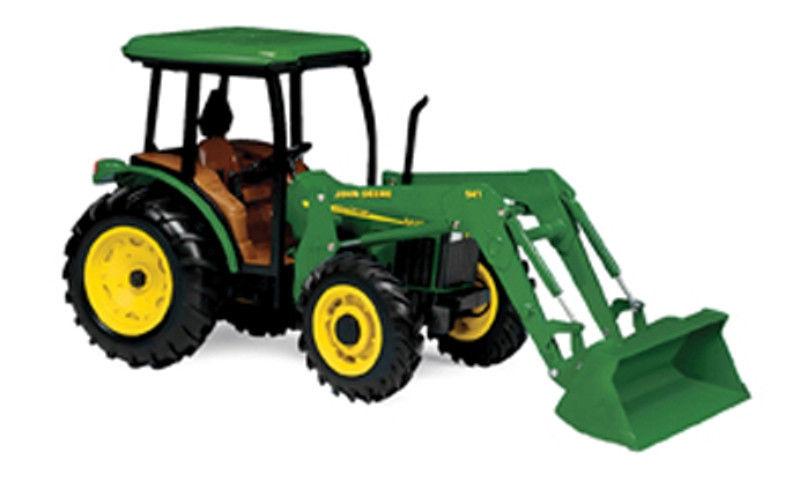 John Deere 1/16 5420 Diecast Tractor w/Cab & Loader Ertl Farm Toy ...