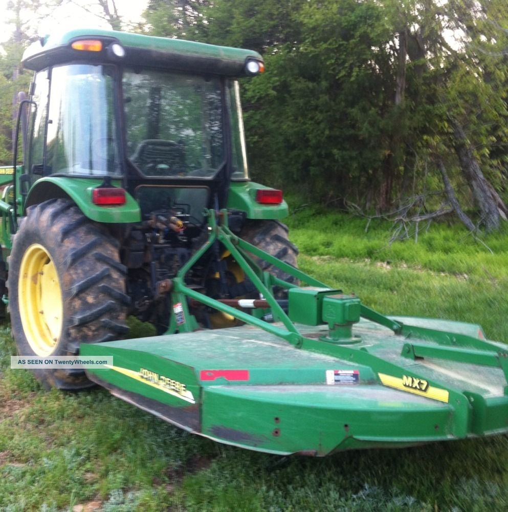 John Deere 5420 Cab & Air Tractor. 4x4. Front End Loader. W/ Jd ...