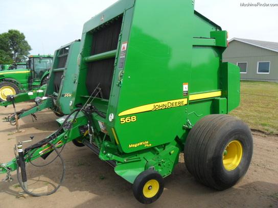 2012 John Deere 568 Hay Equipment - Round Balers - John Deere ...