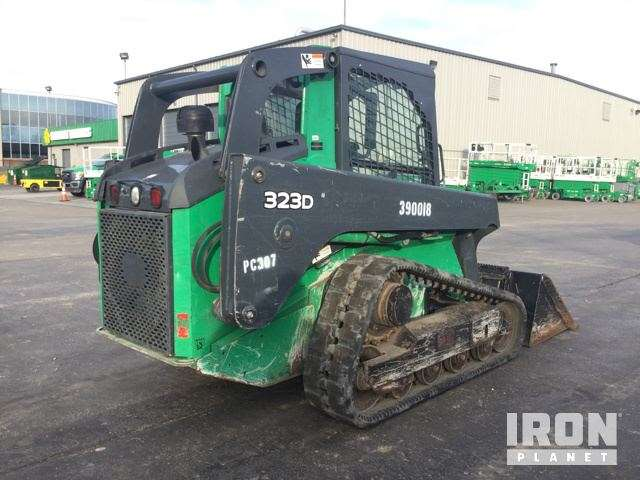 2011 John Deere 323D Compact Track Loader For Sale, 1,562 Hours | St ...
