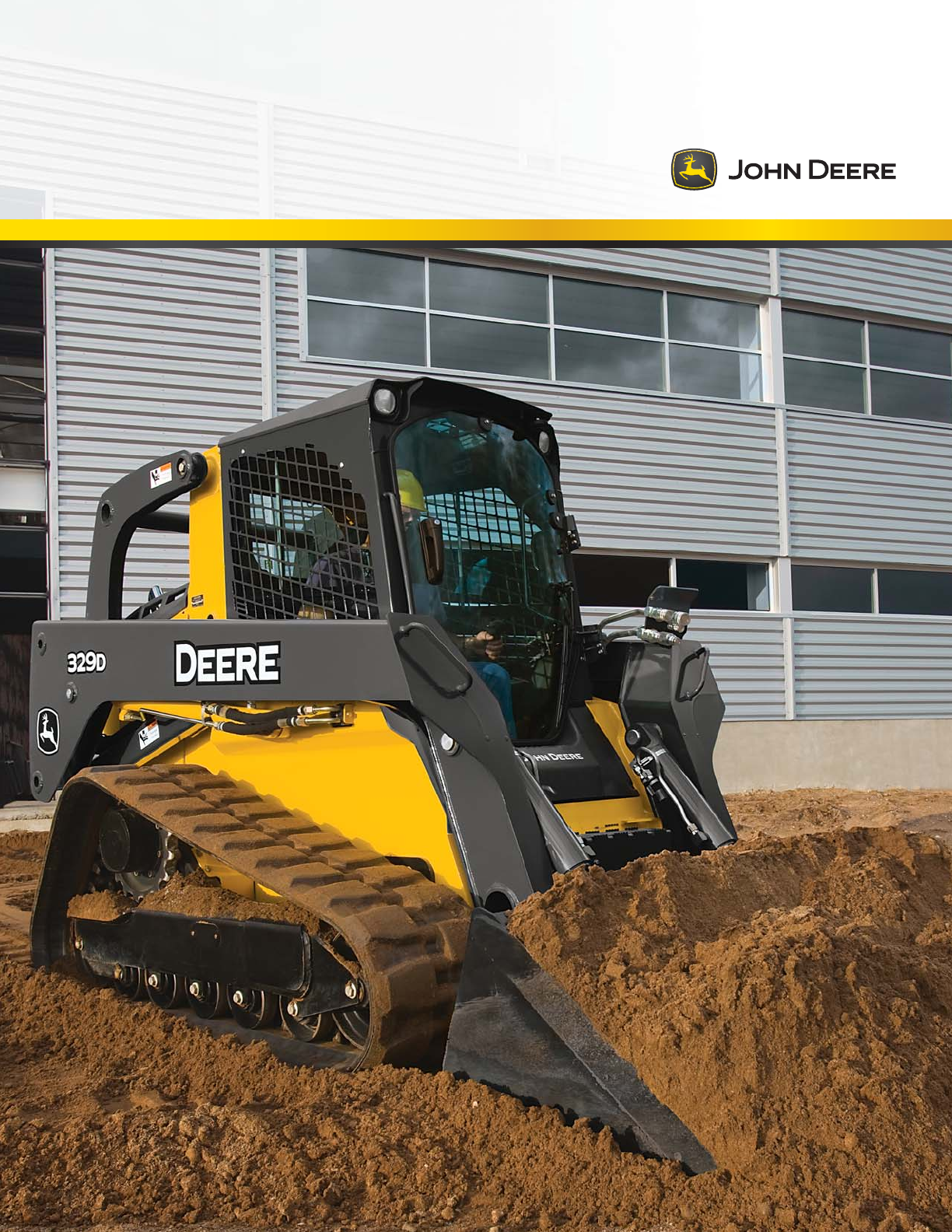 John Deere Compact Loader 323D User Guide | ManualsOnline.com