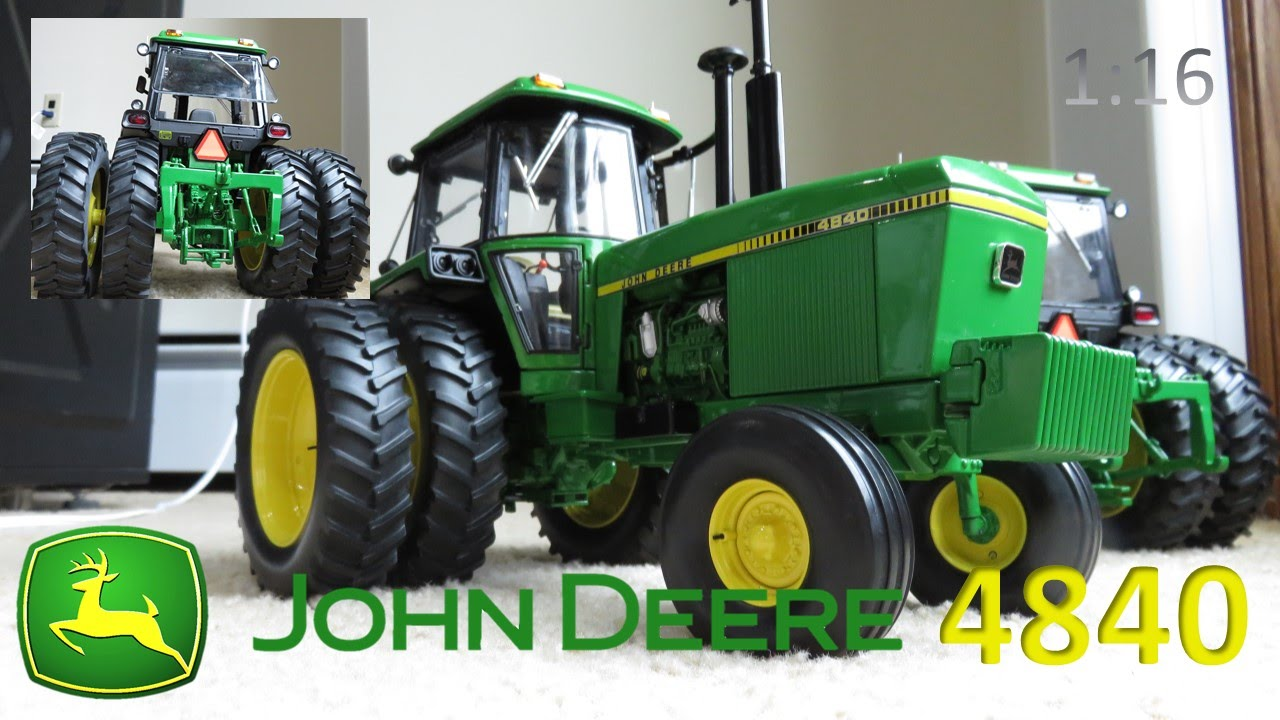 John Deere 4840 Precision Elite Series 1:16 Scale - YouTube