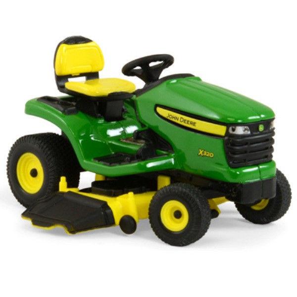 John Deere 1/16 Scale X320 Lawn Tractor with Mower TBE45484 | eBay