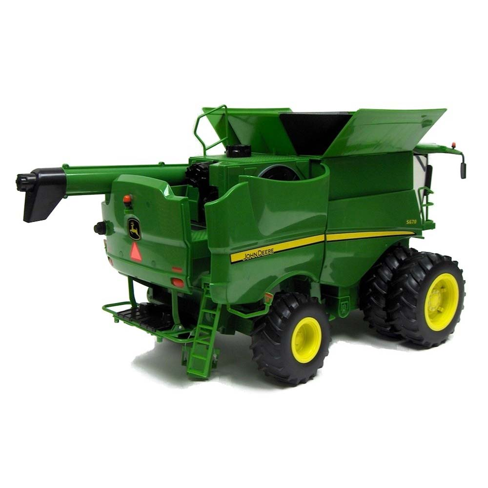 Details about Ertl John Deere S670 Combine Big Farm Toy Series 1:16 ...