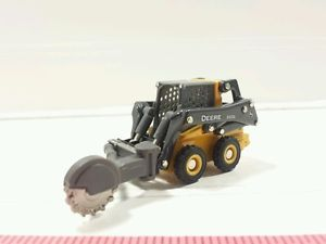64-ERTL-CUSTOM-FARM-TOY-JOHN-DEERE-320E-SKID-STEER-LOADER-WITH-STUMP ...