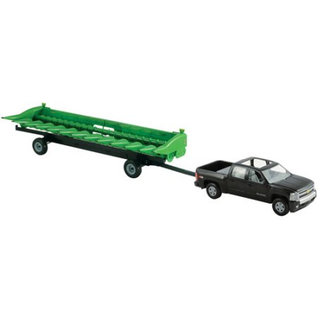 John Deere Big Farm 1:16 Chevy Pickup with John Deere 512C Corn Head ...