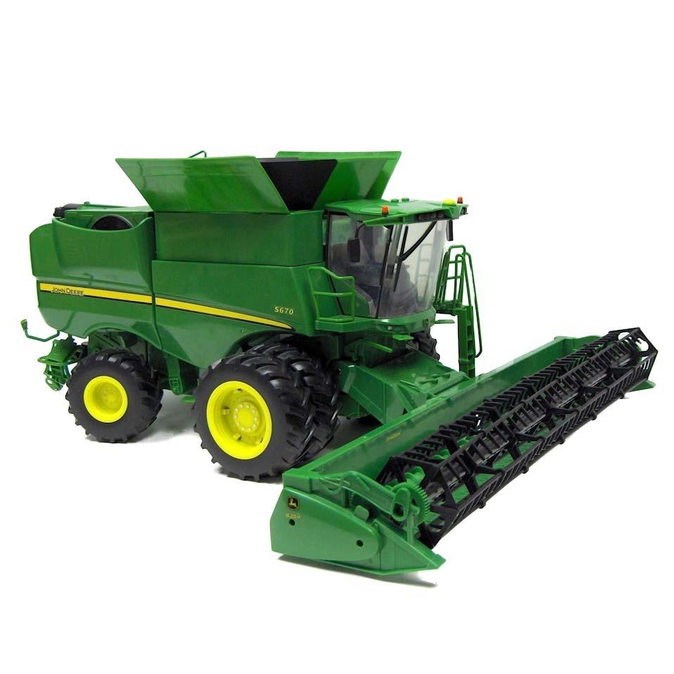 16th ERTL Big Farm John Deere S670 Combine