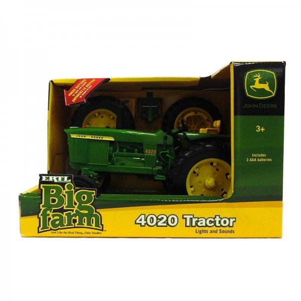 Home 1:16 Scale John Deere Big Farm 4020 Wide Front Tractor