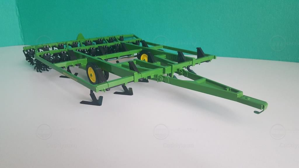 John Deere Mulch Master 550 modelcar, Ertl 1:16 in green owned by ...