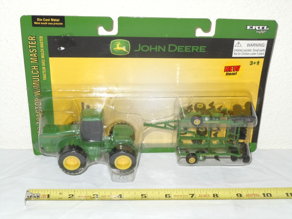 John Deere 8970 4WD with 550 Mulch Master by Ertl 1 64th Scale | eBay