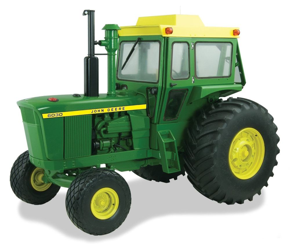 16 John Deere 6030 Precision Elite Collectible Tractor Toy by Ertl ...