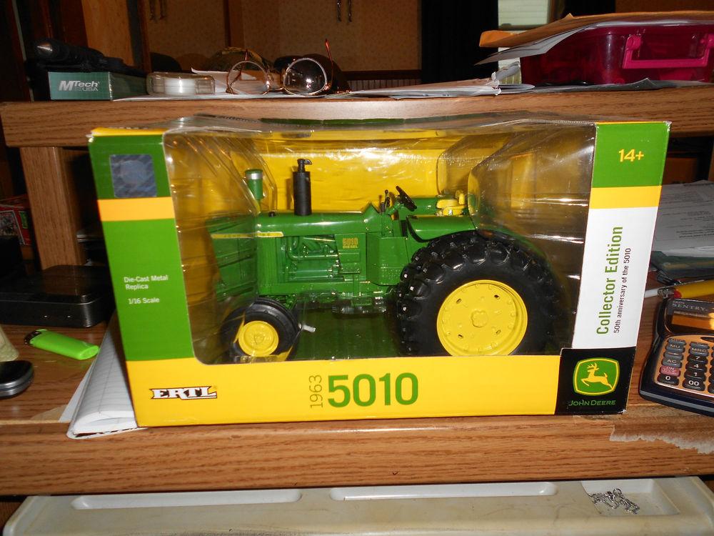 Ertl Diecast 1 16 John Deere 5010 Farm Tractor Collector Edition ...