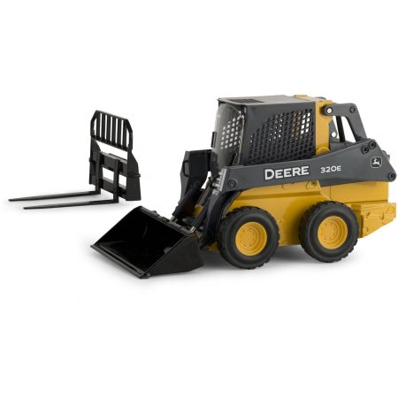 ERTL 1/16 Scale John Deere 320E Skid Steer from the Prestige ...