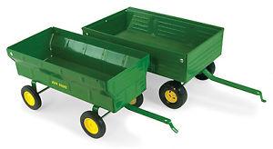 John-Deere-1-16-Scale-Vintage-Barge-Wagon-Diecast-Farm-Implement ...