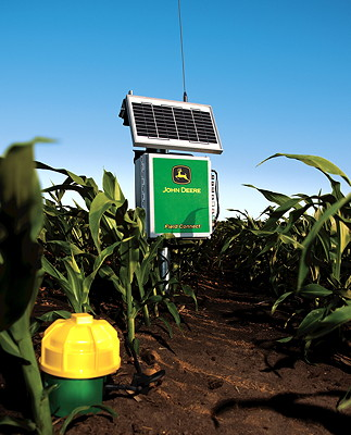 The John Deere Field Connect sensor system for field-scale irrigation ...