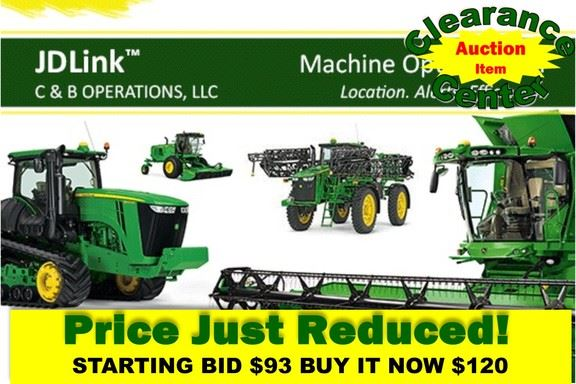 John Deere 0073PC JDLINK ASSET TRACK - Precision sowing machines - ID ...