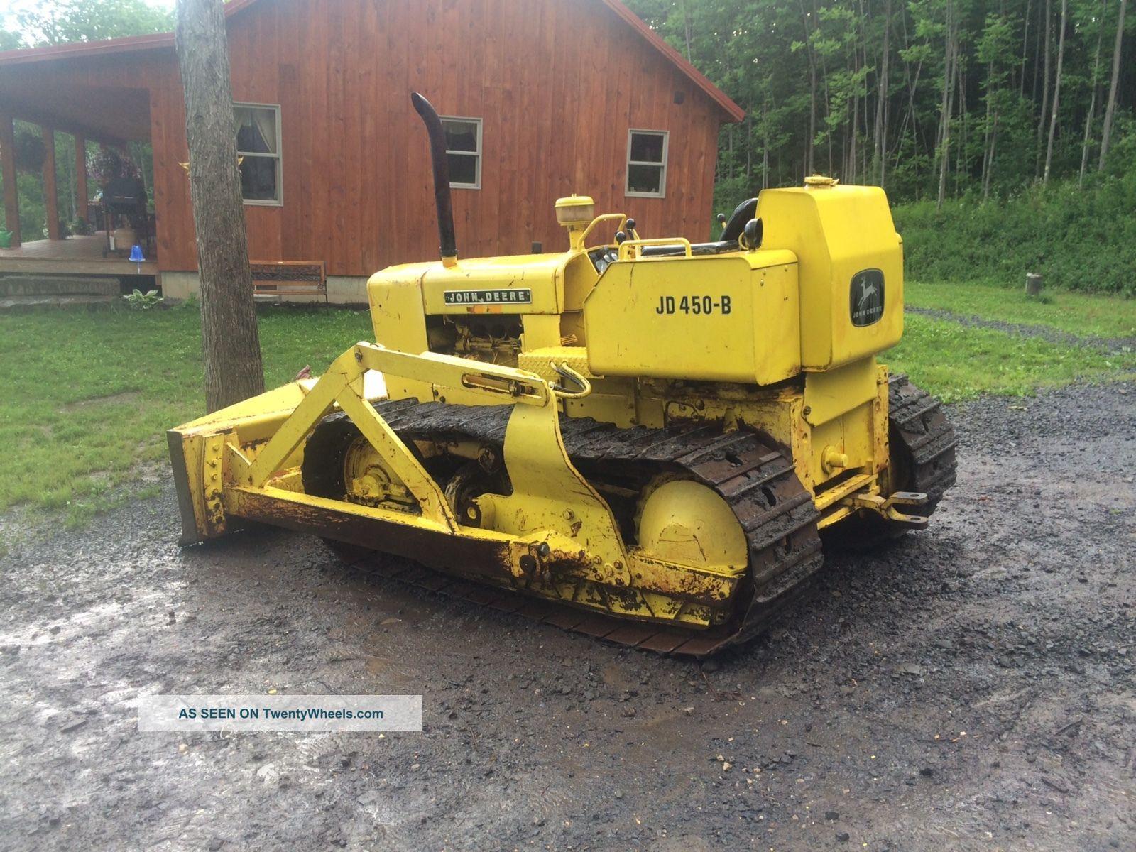 John Deere 450b Crawler Bulldozer Dozer Loader