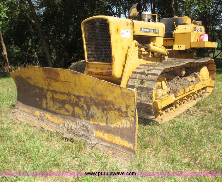 John Deere 450B dozer | no-reserve auction on Thursday ...