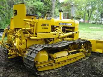 Used Farm Tractors for Sale: John Deere 1010 6 Way Dozer (2005-05-25) - TractorShed.com