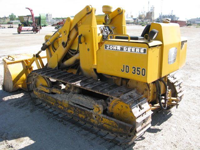 John Deere 350 Crawler Loader