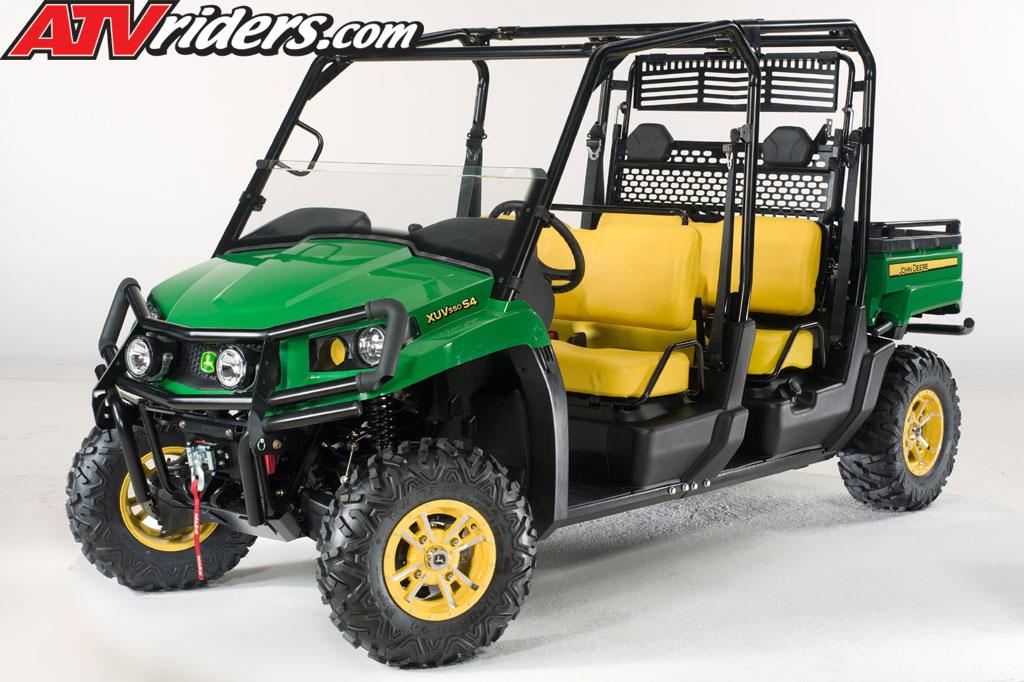 John Deere Gator XUV 550 & 500 S4 Utility Vehicle (UV) Announced ...