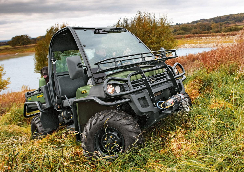 John Deere XUV 855D Gator with new power steering