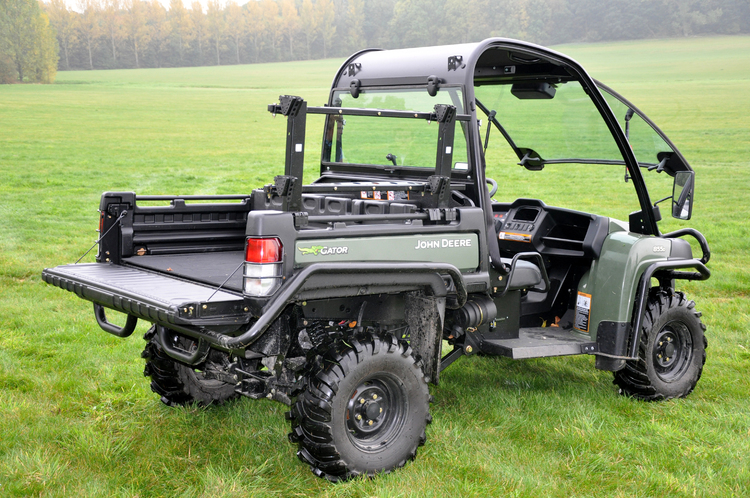 ... John Deere's latest XUV Gator utility vehicle, which is now the