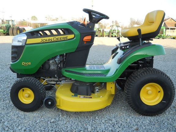 ... 1,450, Year: 2015 | Used John Deere D105 lawn mowers - Mascus USA