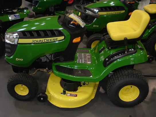 John Deere D110 Lawn & Garden and Commercial Mowing - John Deere ...