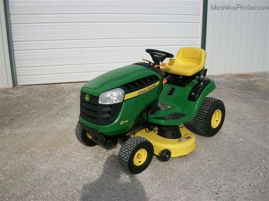 2011 John Deere D110 Lawn & Garden and Commercial Mowing - John Deere ...