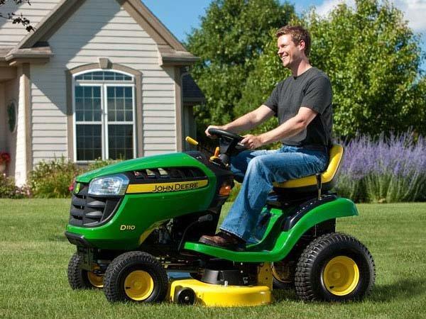Grand prize – John Deere D110 riding lawn mower
