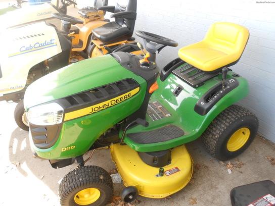 2013 John Deere D110 Lawn & Garden and Commercial Mowing - John Deere ...