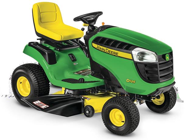 Riding Lawn Mower   D125   John Deere US
