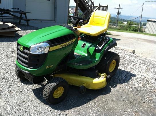 2012 John Deere D140 Lawn & Garden and Commercial Mowing - John Deere ...