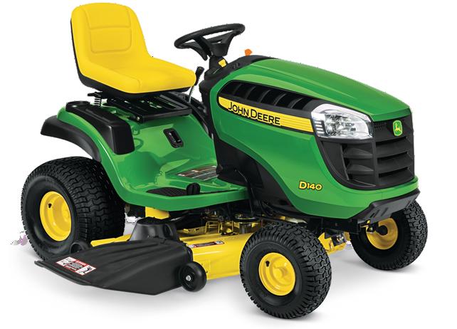 Riding Lawn Mower | D140 | John Deere US
