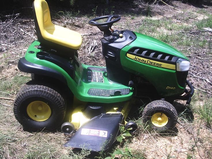 John Deere D140 Lawn Tractor $1,200.00   Cool machines   Pinterest