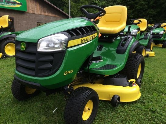 ... 1,852, Year: 2014   Used John Deere D140 lawn mowers - Mascus USA