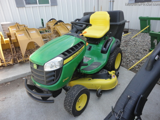 2011 John Deere D160 Lawn & Garden and Commercial Mowing - John Deere ...