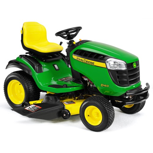 2014 John Deere 48 in Model D160 24 hp Riding Mower Review ...