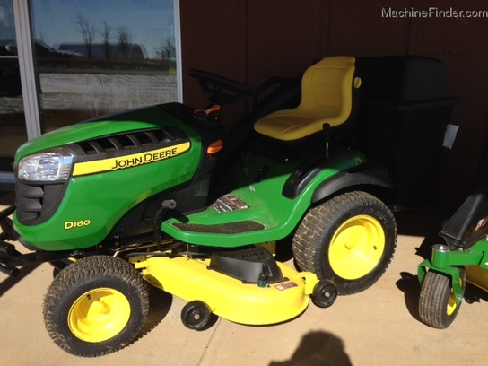 2014 John Deere D160 Lawn & Garden and Commercial Mowing - John Deere ...