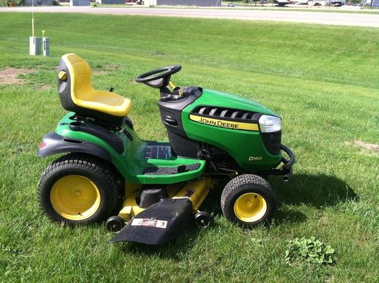 ... 2,350, Year: 2013 | Used John Deere D160 lawn mowers - Mascus USA