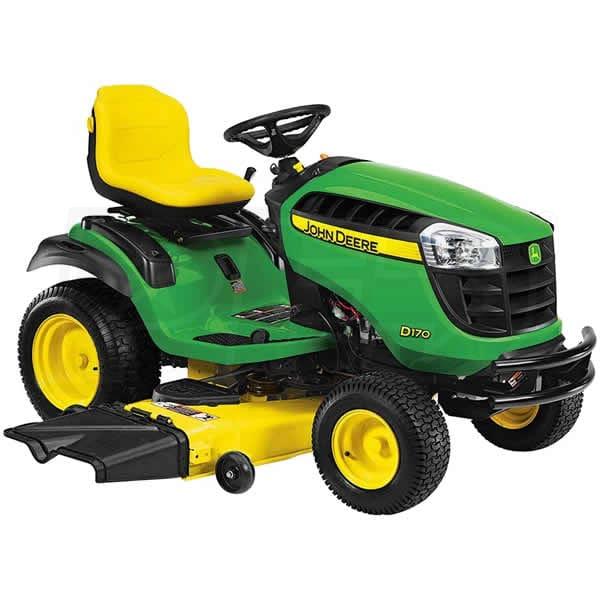 John Deere D170 Lawn Tractor Reviews & Ratings @ Power Equipment ...